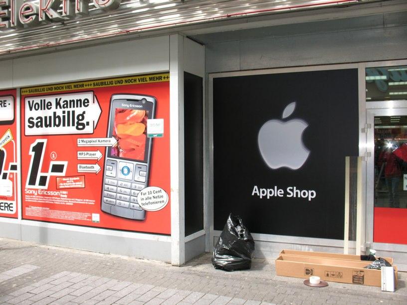 Apple shop im media markt in k ln news for Media markt koln marsdorf