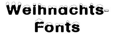 weihnachts fonts software forum. Black Bedroom Furniture Sets. Home Design Ideas