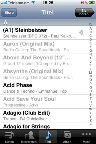 musiktitel vom iphone löschen