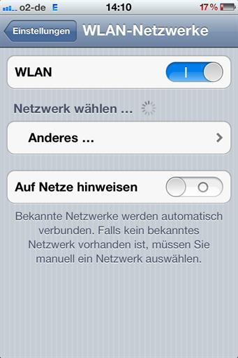 iphone findet kein wlan mehr