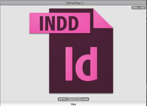 indesign cs6 zeigt keine vorschau in den icons ml