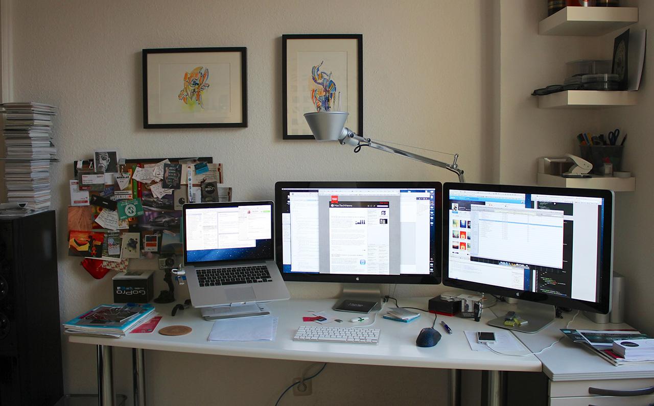 Ein Schreibtisch Hardware Galerie Mactechnewsde