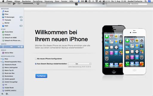 Neues Iphone Erst Konfigurieren Dann Backup Aufspielen