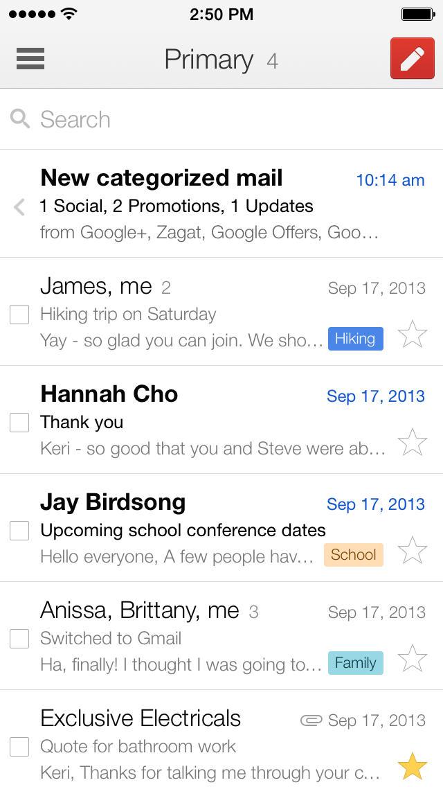 Gmail Registrierung