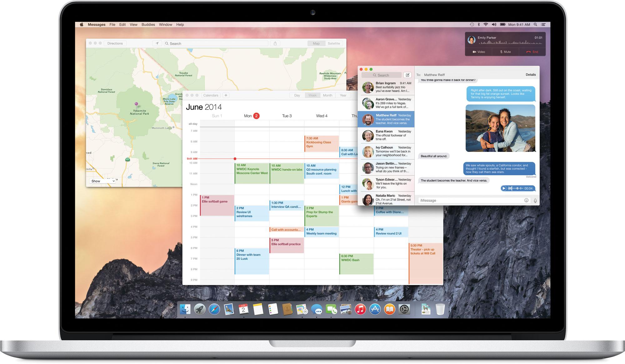 Apple stellt OS X Yosemite mit neuem Design vor