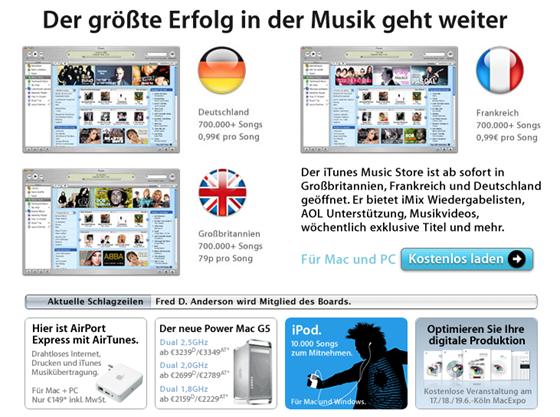 Itunes Store Deutschland