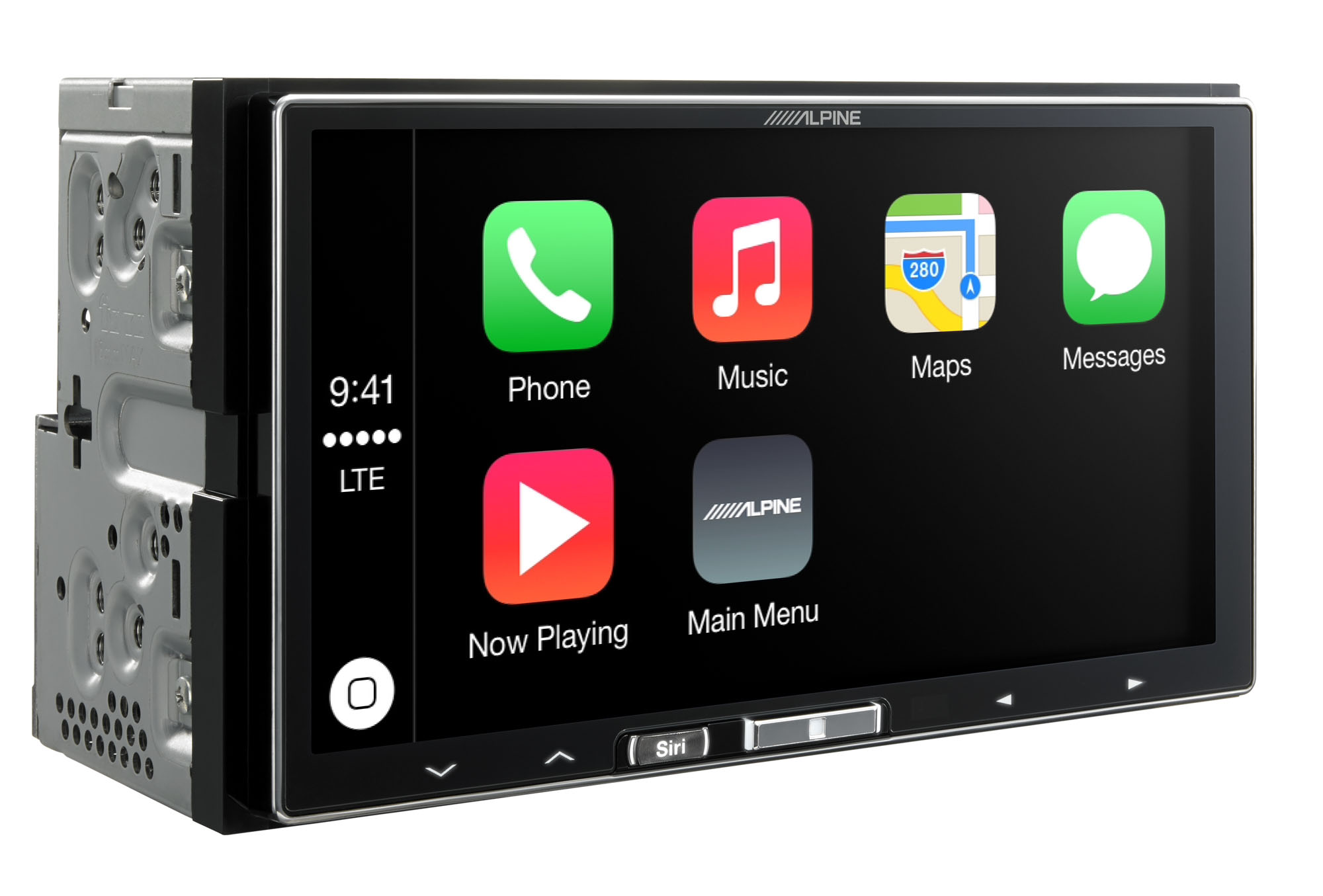 alpine stellt carplay optimierten auto receiver ilx 700. Black Bedroom Furniture Sets. Home Design Ideas