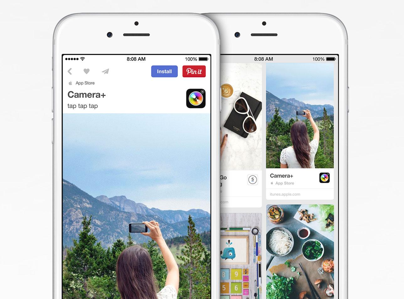 iPhone Apps in Pinterest empfehlen dank Kooperation mit Apple ...