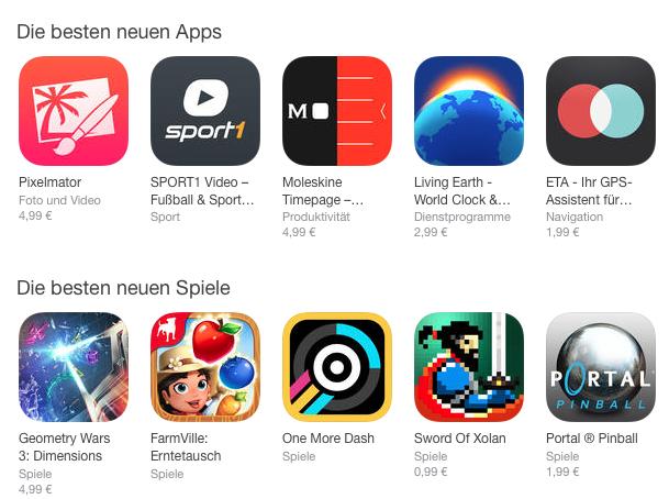 Erfolgreichste Spiele Apps