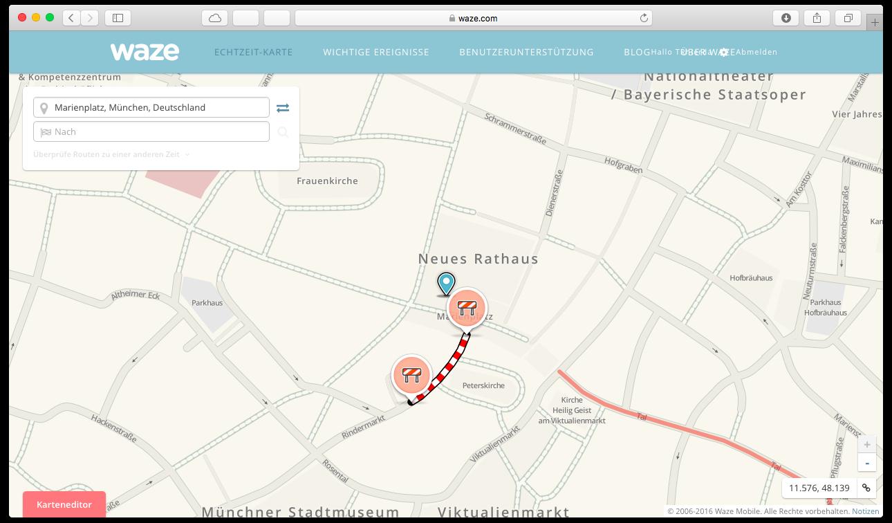 google maps und alternativen 5 karten apps f r ios und. Black Bedroom Furniture Sets. Home Design Ideas