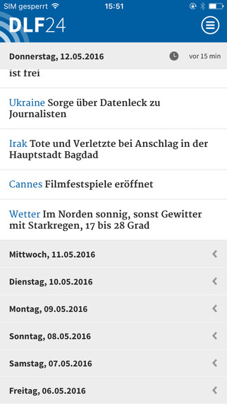 Deutschlandfunk präsentiert eigene iOS-App | News | MacTechNews.de