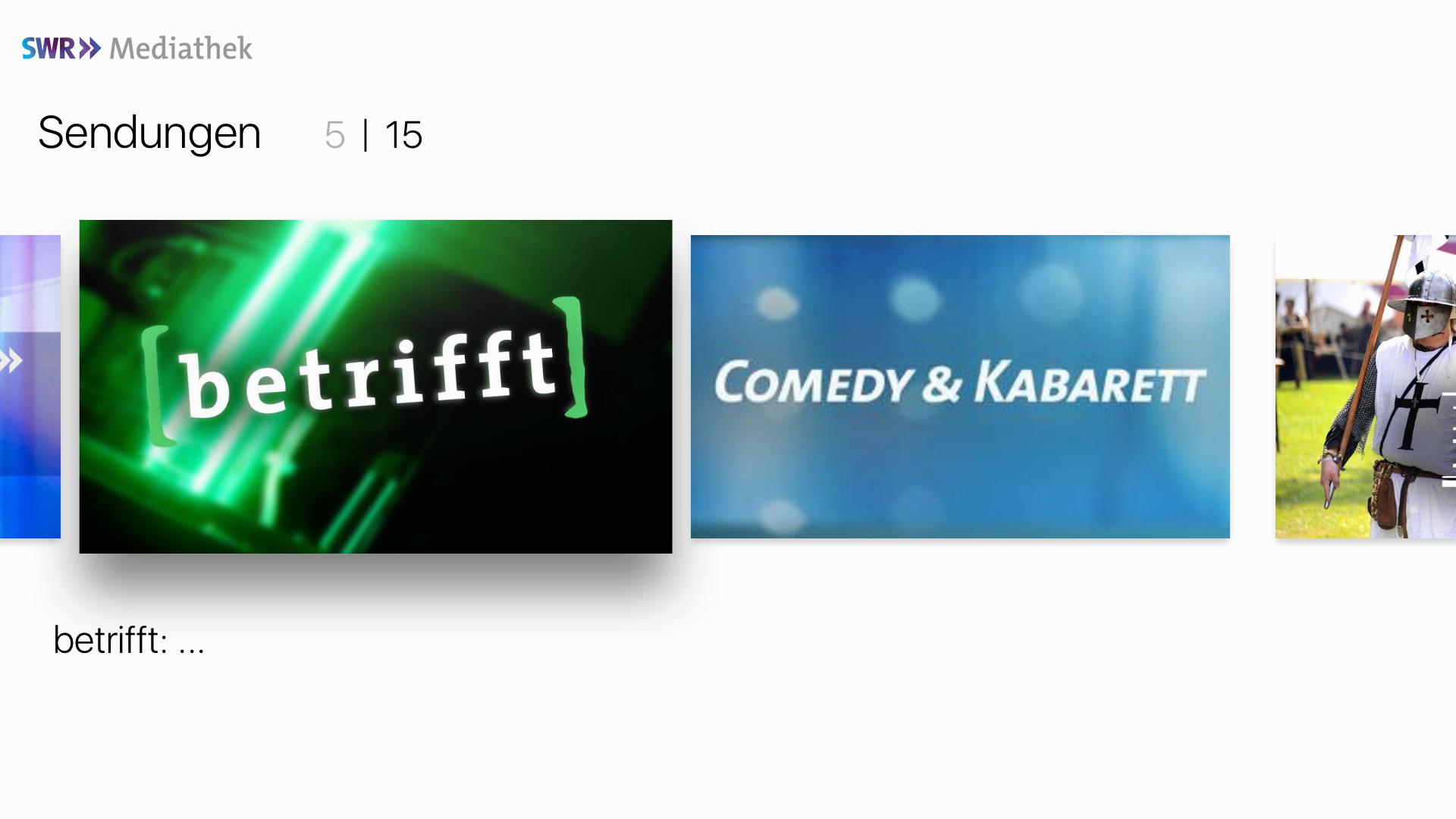 ard mediathek comedy