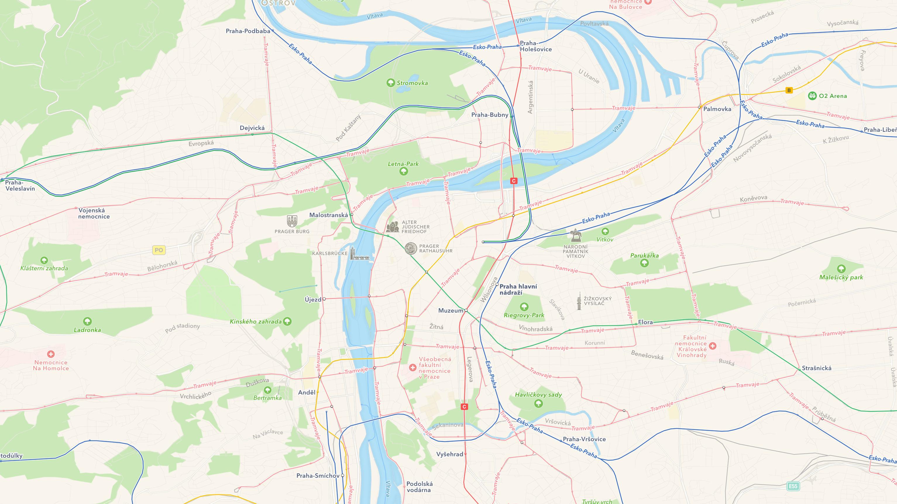 Prag Karte Europa.Apple Karten Neue öpnv Daten In Europa News Mactechnews De