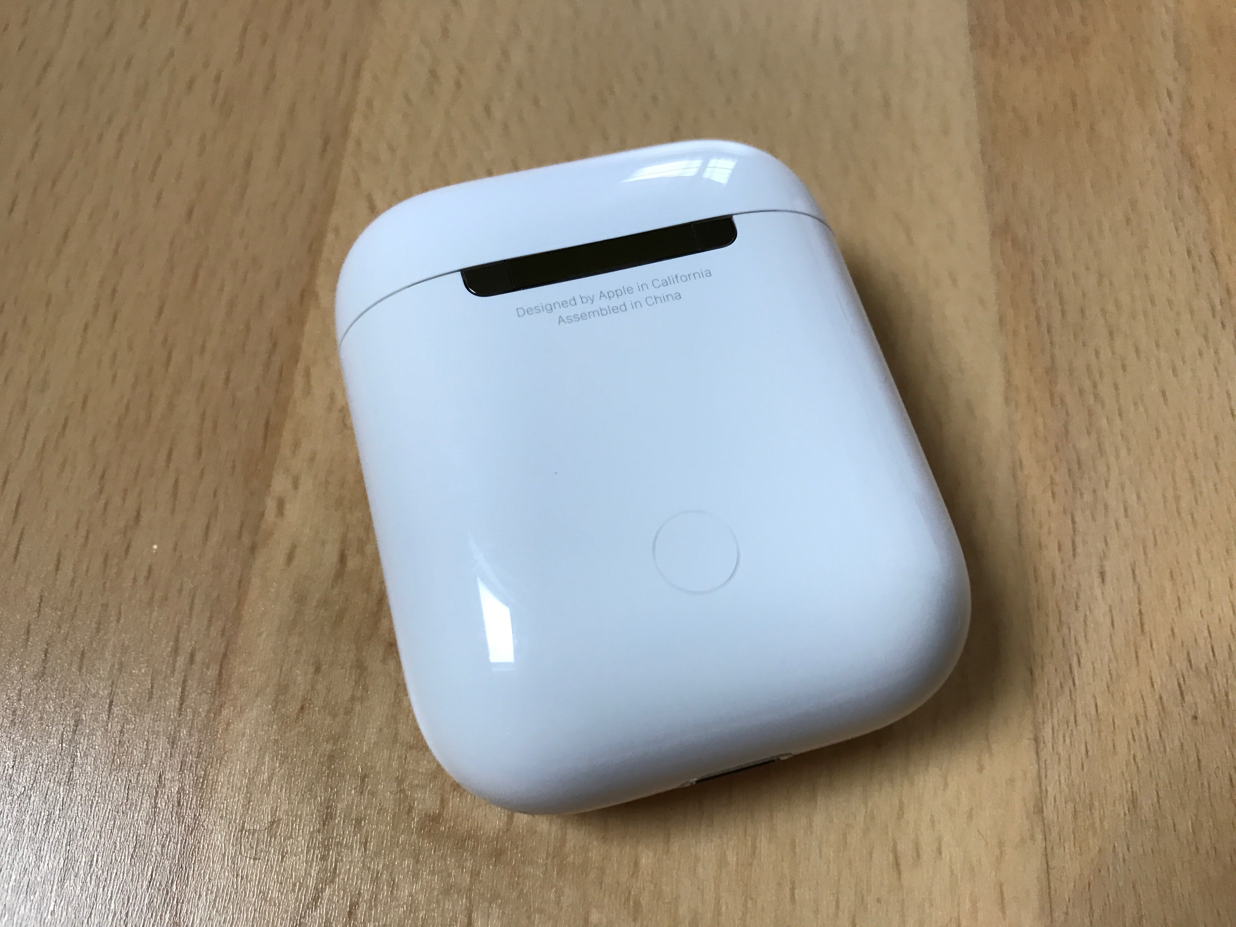airpods knopf