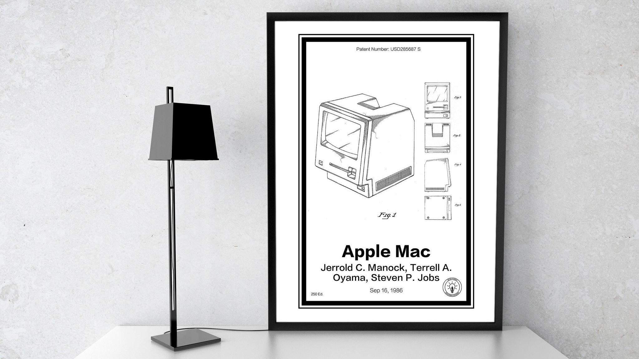 Poster für den Nerd: Macintosh, iPhone und mehr als gerahmte ...