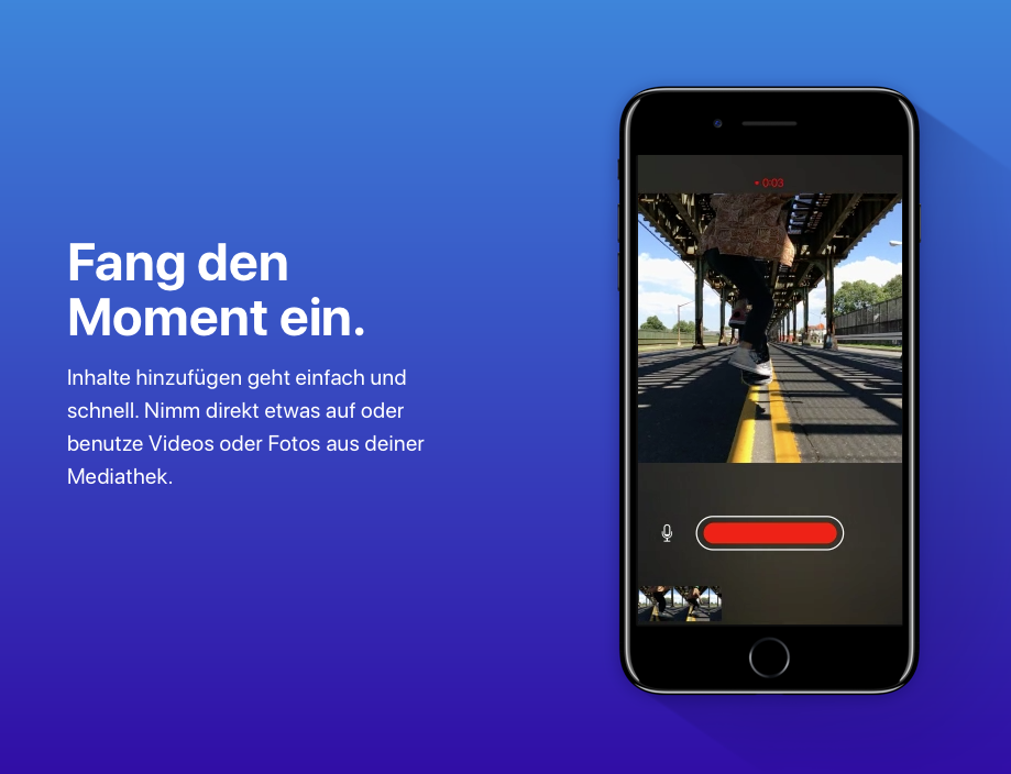 Clips - Neue Video-App von Apple jetzt verfügbar | News | MacTechNews.de