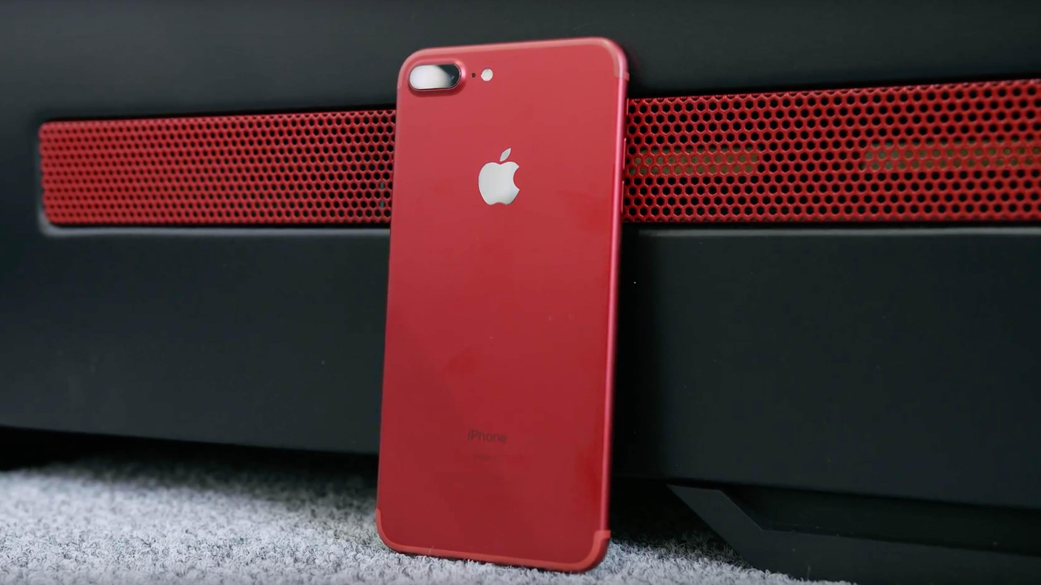 iPhone 7 (Product)Red: Blick von allen Seiten (Umfrage) | News ...