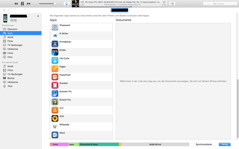 Iphone app dateien auf pc übertragen