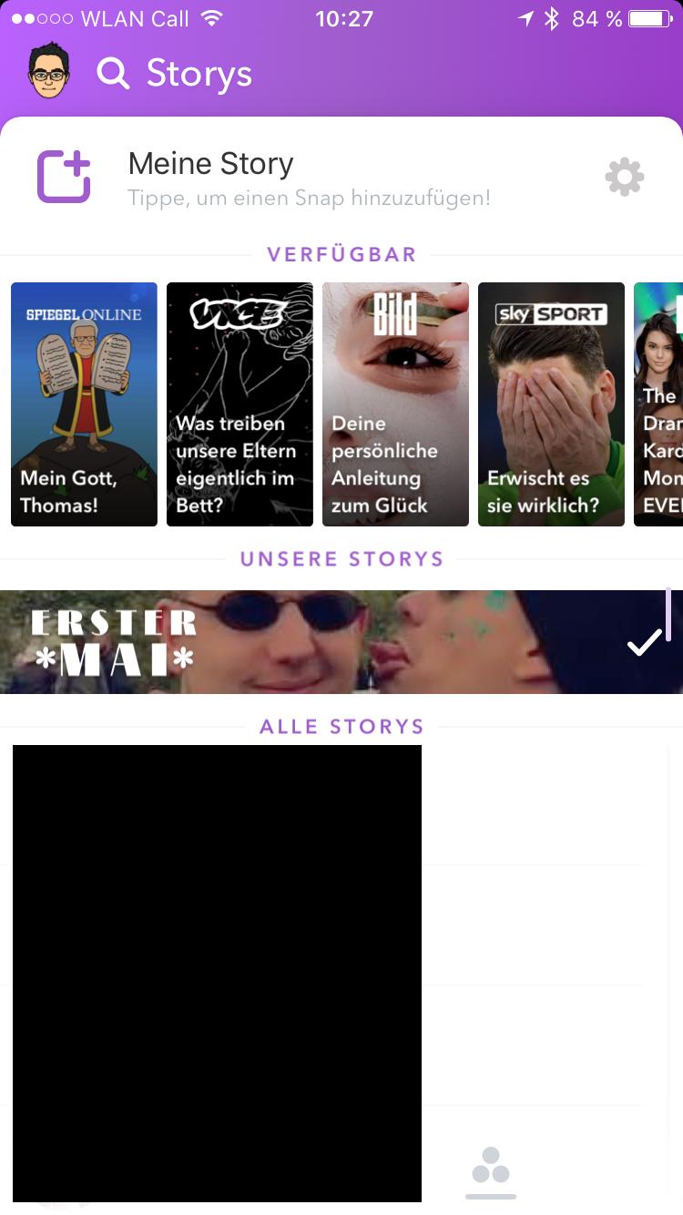 Snapchat Story Ansehen