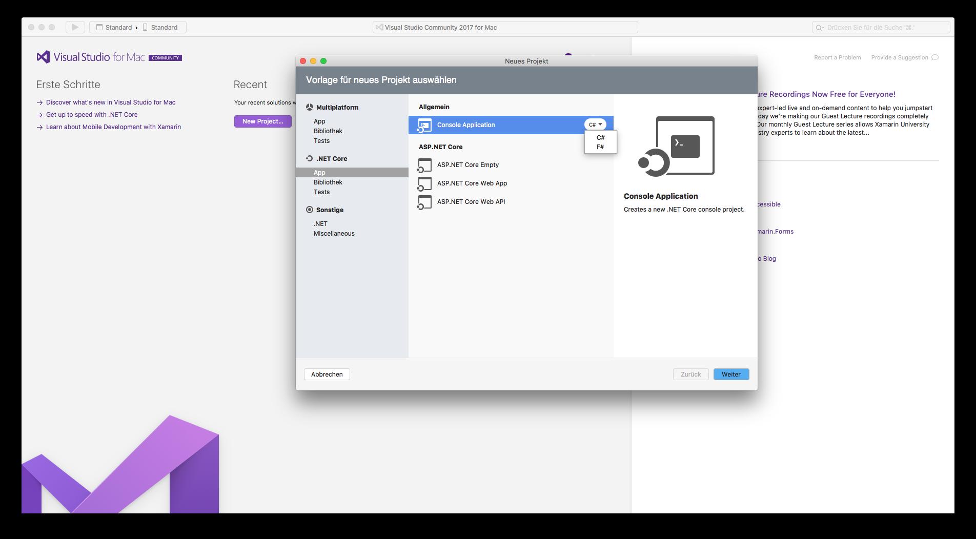 Visual Studio für macOS steht in finaler Version zum Download bereit