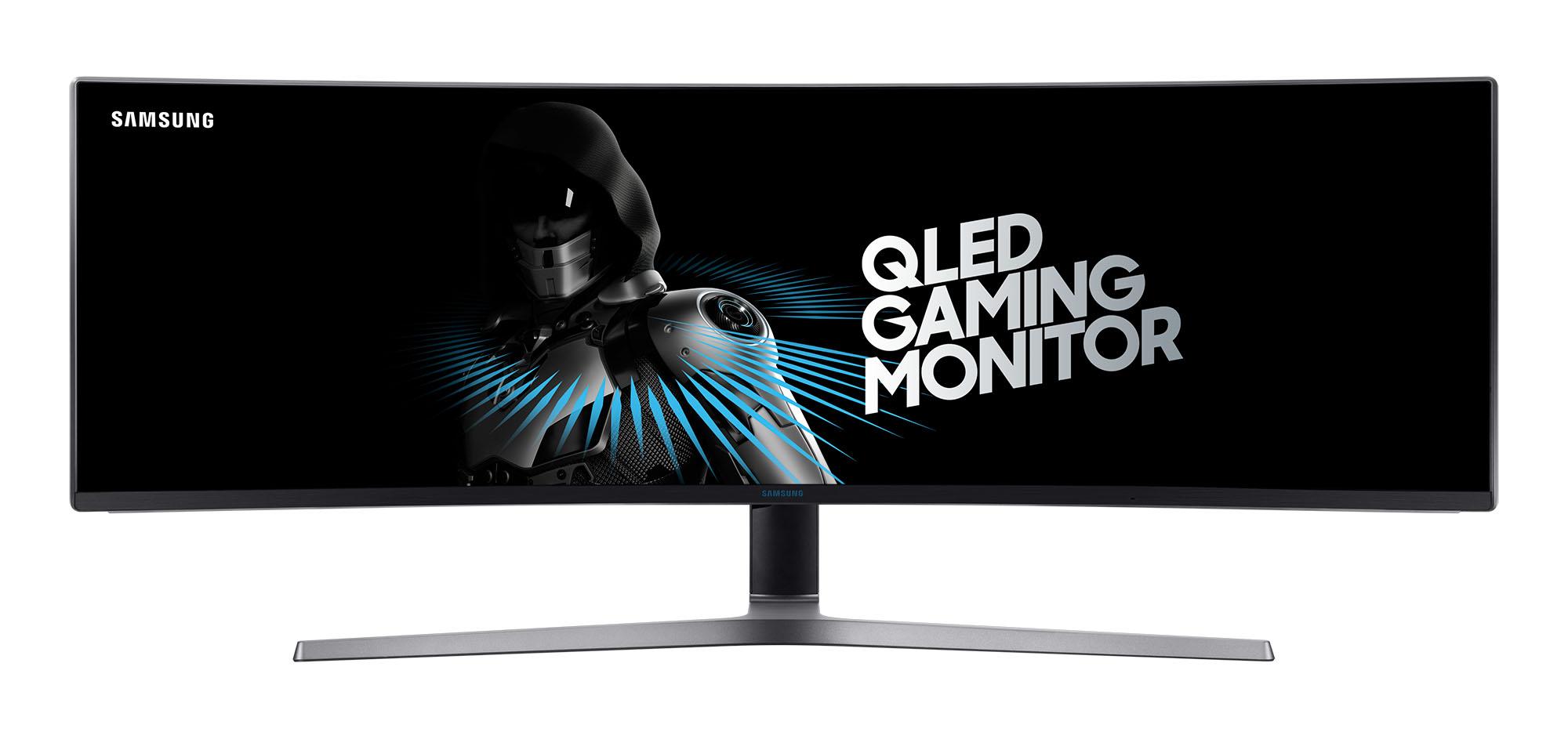 samsung drei gro e qled gaming monitore zwischen 27 und 49 zoll mit hdr unterst tzung news. Black Bedroom Furniture Sets. Home Design Ideas