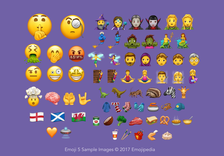 56 neue Emoticons | Endlich kommt das Kotz-Emoji
