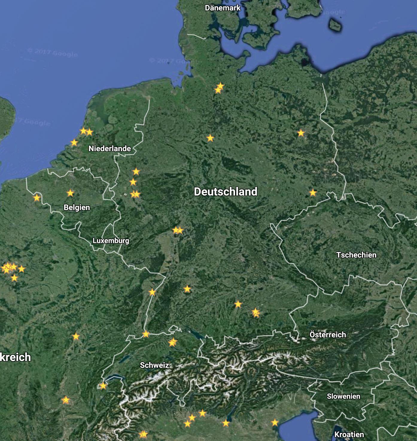 apple stores deutschland karte Übersicht: Alle Apple Stores in Ihrer Nähe   Karte von Deutschland
