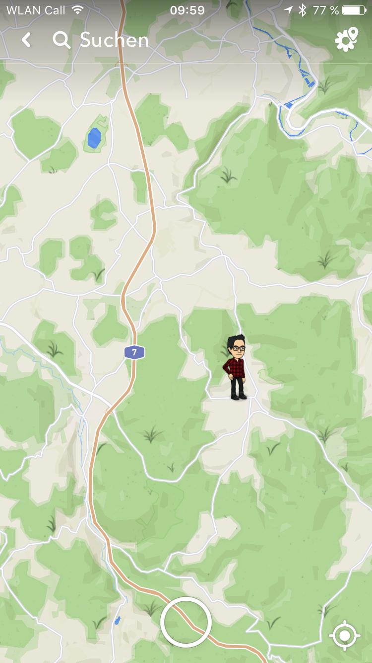 Snapchat Karte.Snapchat Snap Map Bringt Ortung Der Freunde Und Echtzeitdaten
