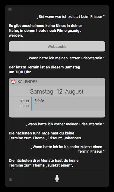 Siri Immer Noch Ein Entwicklungsland Screenshots Galerie