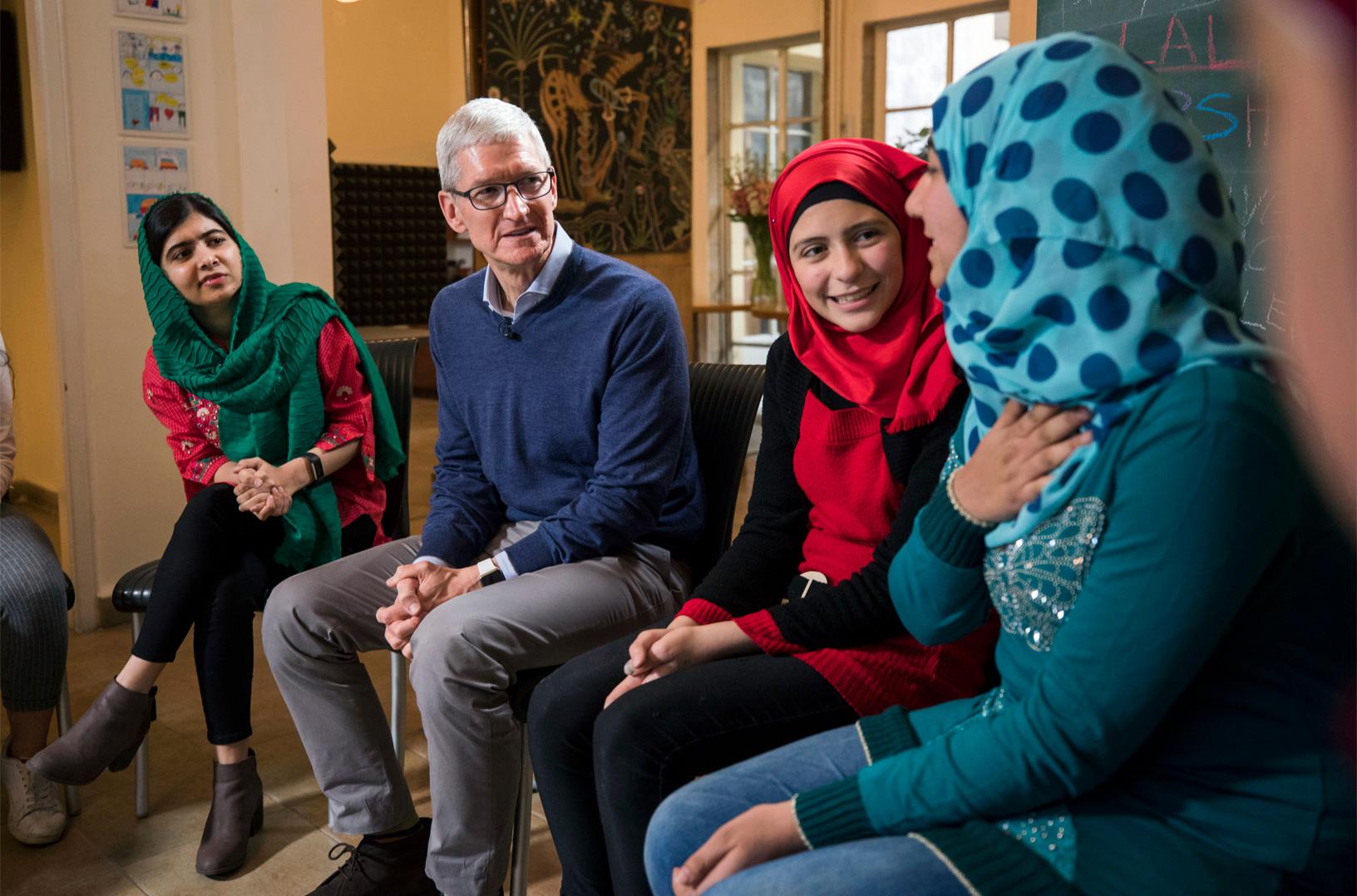Apple unterstützt Malala-Fund bei Mädchenausbildung