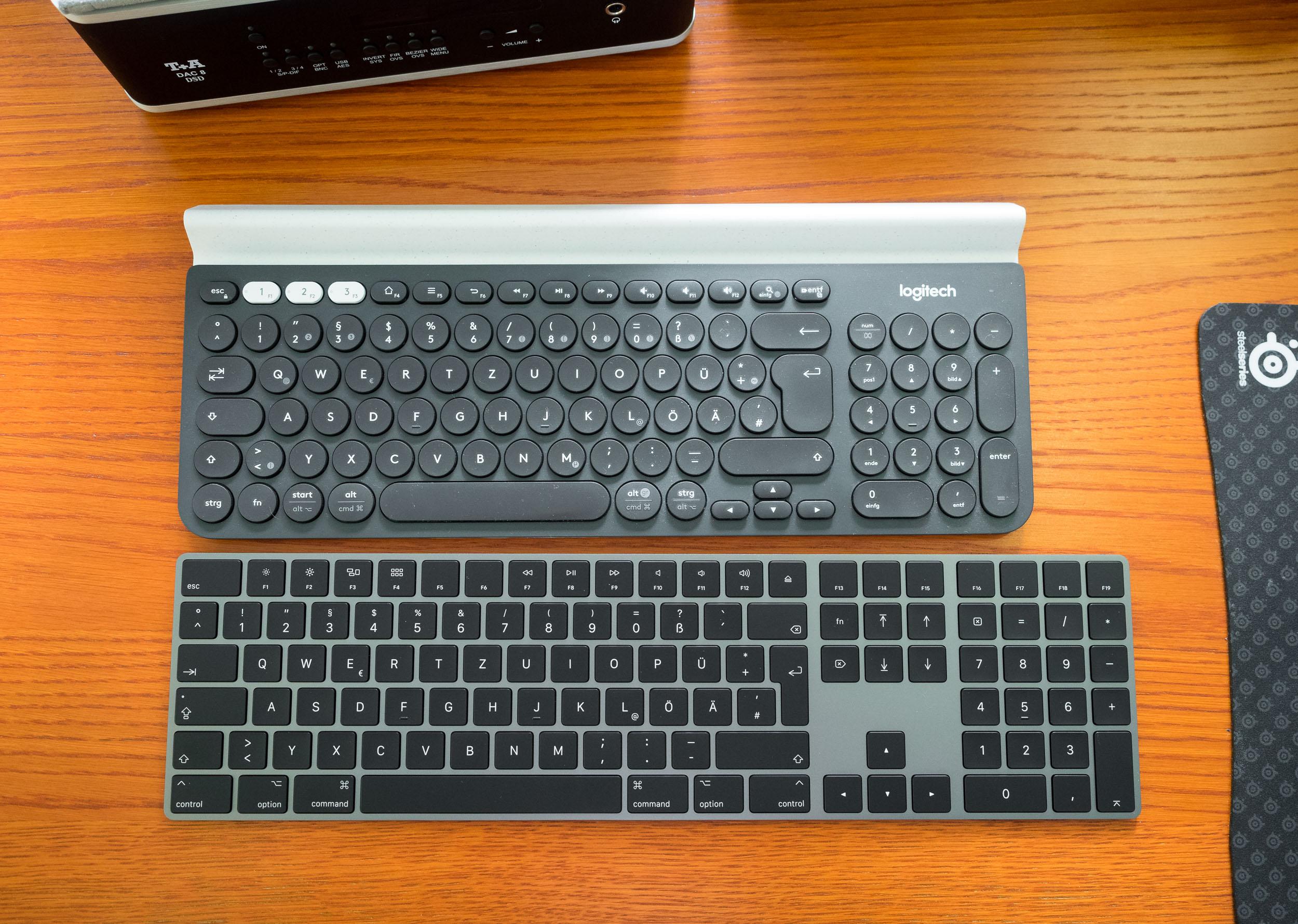 Apple Magic Keyboard mit Ziffernblock in Space Grau – Ein ... 210be2ae3e