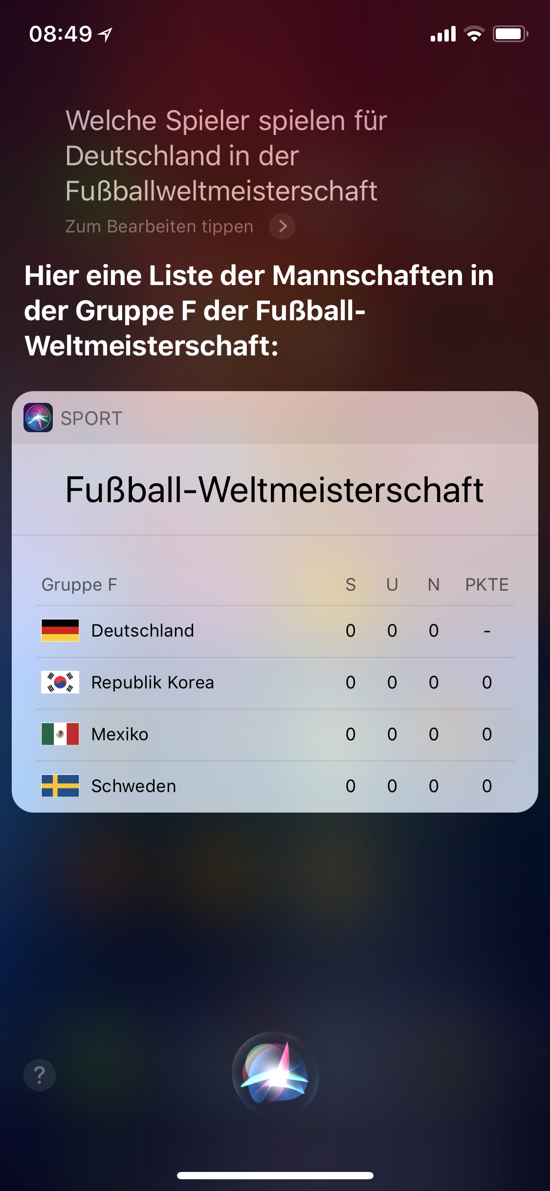 Siri Und Die Fußballweltmeisterschaft News Mactechnewsde