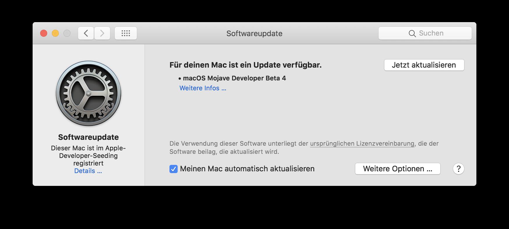 macOS 10 14 Mojave – Beta 4 | News | MacTechNews de