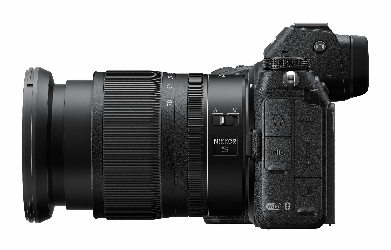 Nikon j mirrorless camera wifi nfc
