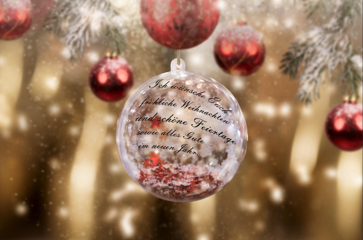 In Diesem Sinne Frohe Weihnachten.Frohe Weihnachten Und Ein Schönes Neues Jahr Sonstiges Und Off