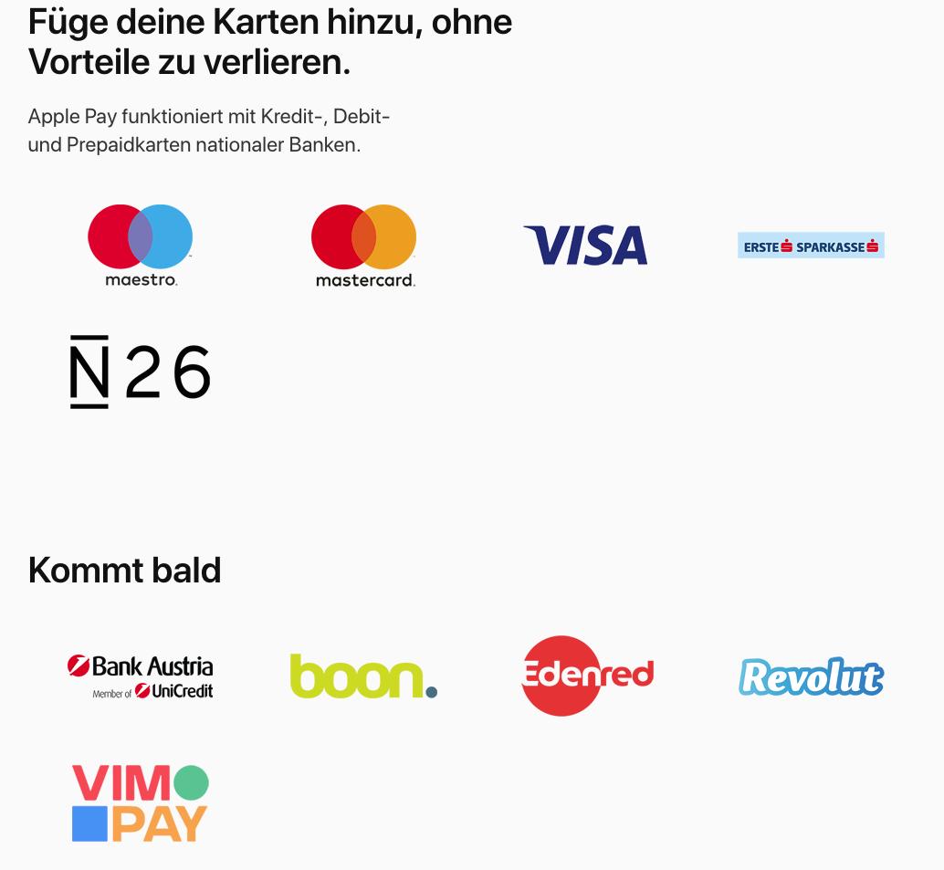 Www Mein Edenred De Karte Registrieren.Apple Pay Jetzt In österreich Gestartet Und Consors In Deutschland