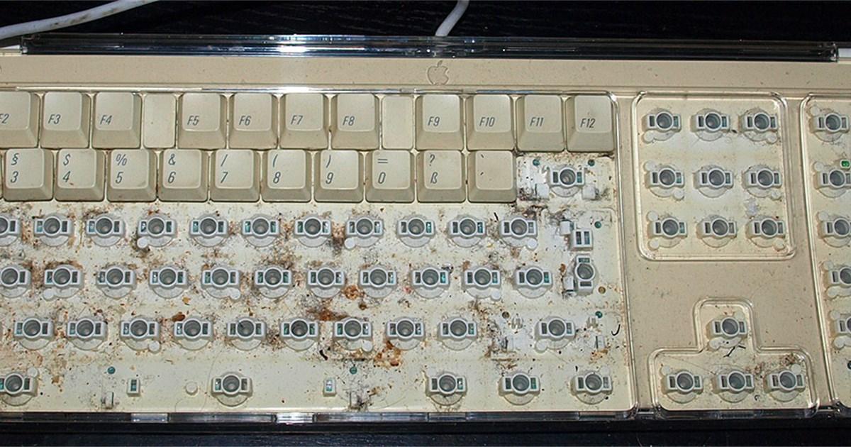 Ich habe eine gebrauchte Tastatur erstanden  Hardware  ~ Geschirrspülmaschine Installieren