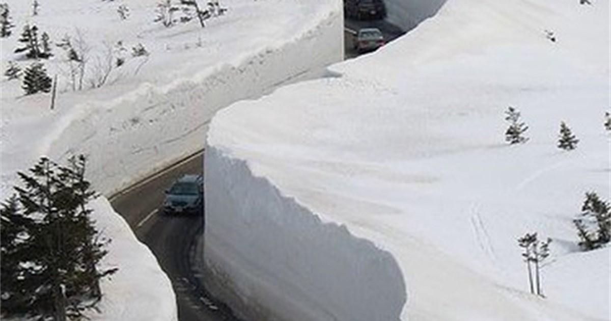 Schnee Japan