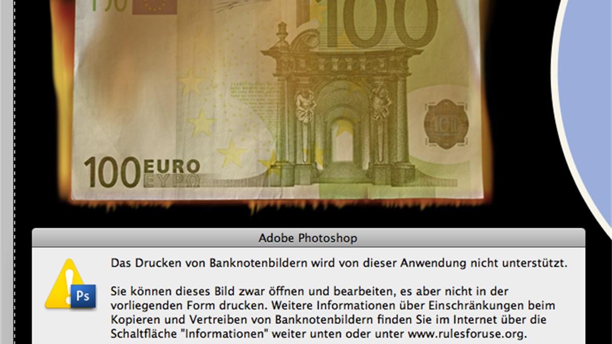 Bild drucken euro schein 100 Euroscheine Zum