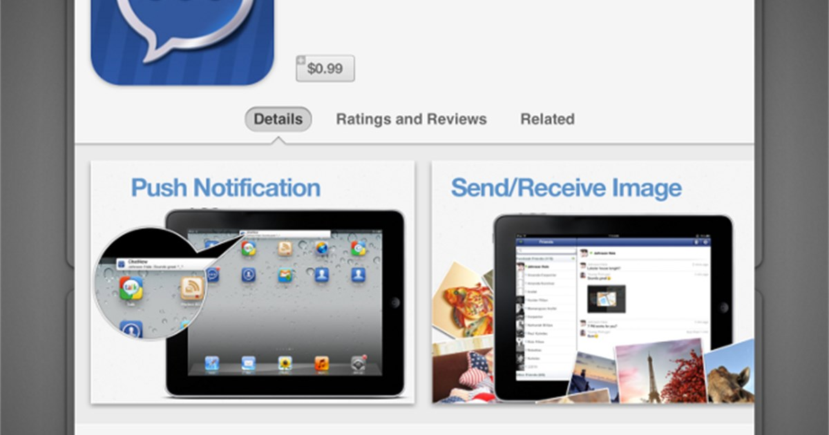Neues Layout des App Stores in iOS 6 Screenshots