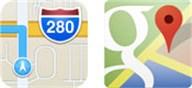 """Bild zur News """"Neue Umfrage: Apple Maps oder Google Maps - Was ist die bessere Kartenlösung unter iOS 6?"""""""