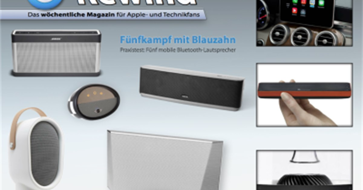 rewind ausgabe 422 f nf mobile bluetooth lautsprecher im test news. Black Bedroom Furniture Sets. Home Design Ideas