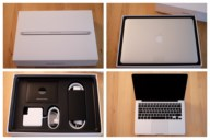 "Unboxing MacBook Pro R 13"" Anfang 2015"