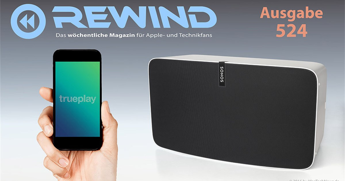 "Test: Sonos PLAY:5 Streaming-Lautsprecher mit ""trueplay ..."