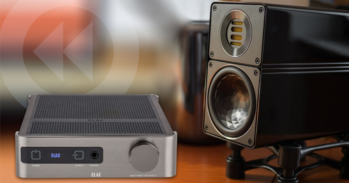 test elac mini hifi system verst rker ea101eq g und. Black Bedroom Furniture Sets. Home Design Ideas