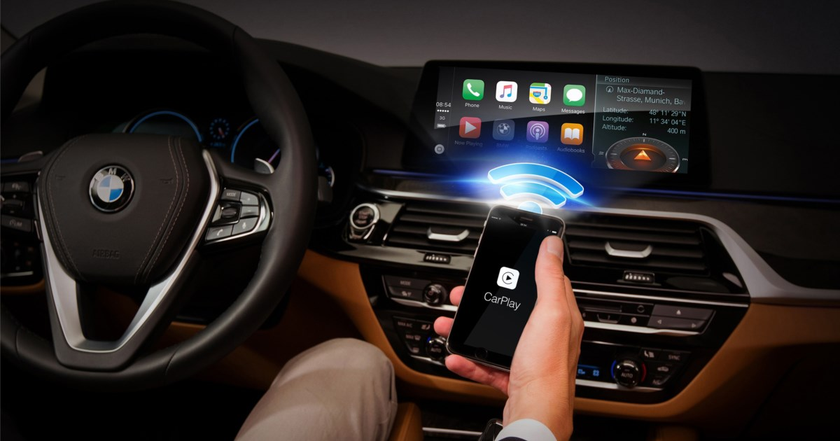 wireless carplay ist endlich auf dem markt news. Black Bedroom Furniture Sets. Home Design Ideas