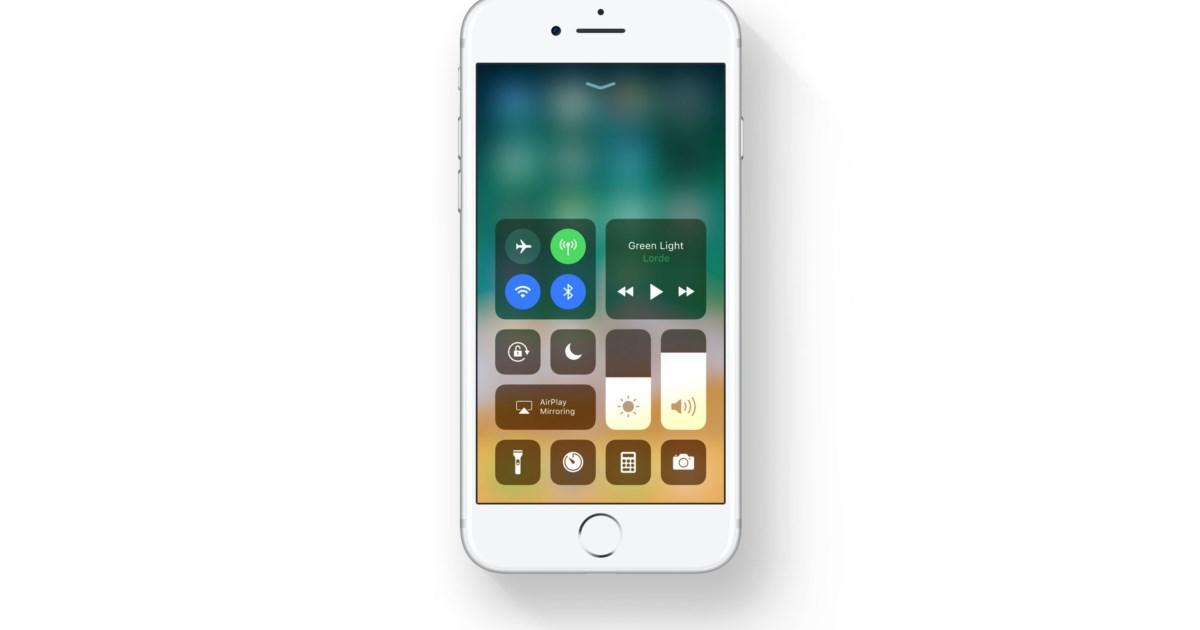 Kontrollzentrum von iOS 11 im Detail: Neuer Look, anpassbar und mit ...