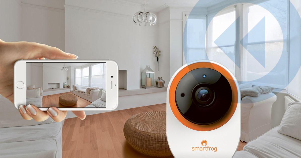berwachung f r das volk test smartfrog ip kamera und. Black Bedroom Furniture Sets. Home Design Ideas