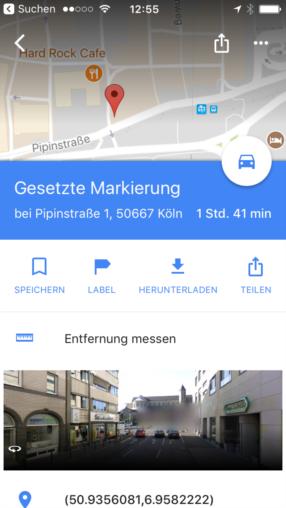 google maps neue messfunktion per luftlinie news. Black Bedroom Furniture Sets. Home Design Ideas
