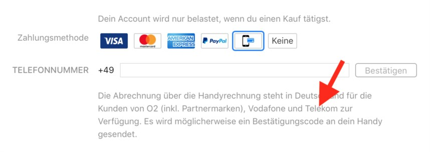 Itunes Handyrechnung Vodafone